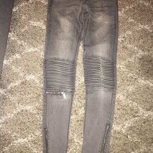 Grey motto jeans